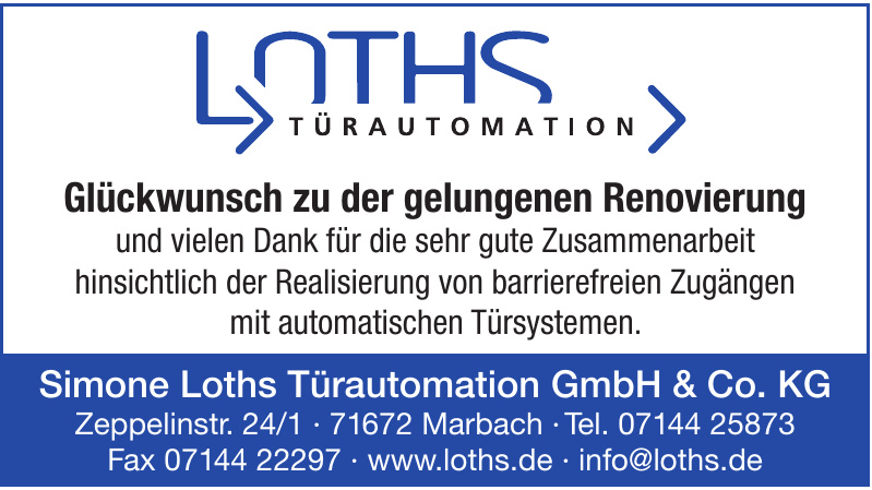 Simone Loths Türautomation GmbH & Co. KG
