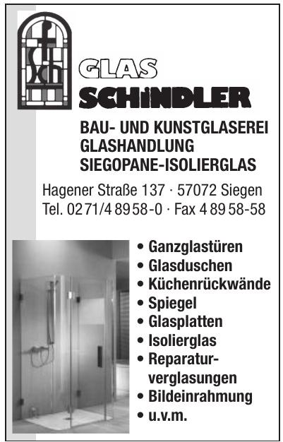 Glas Schindler