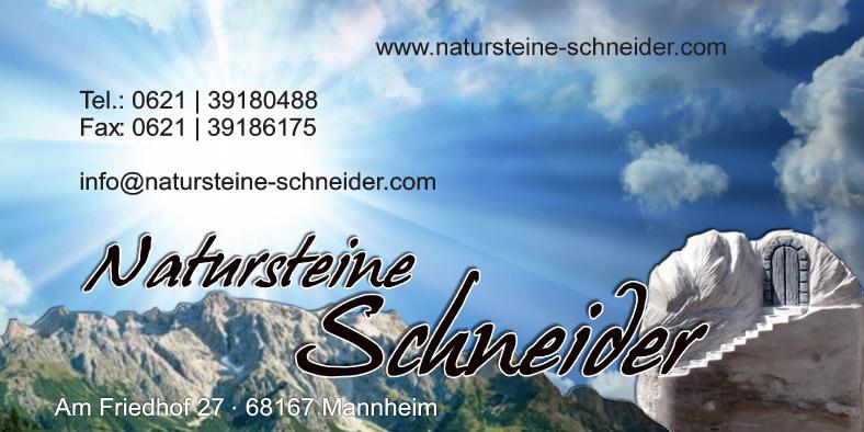 Natusteine Schneider