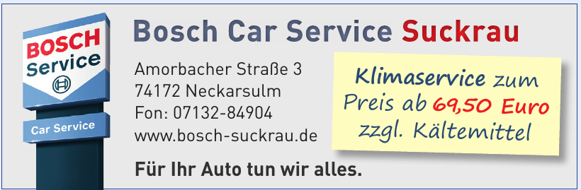 Bosch Car Service Suckrau