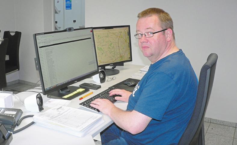 Andreas Zumdick, kaufmännischer Mitarbeiter der Firma D-Tec. Foto: Dorothee Harbers