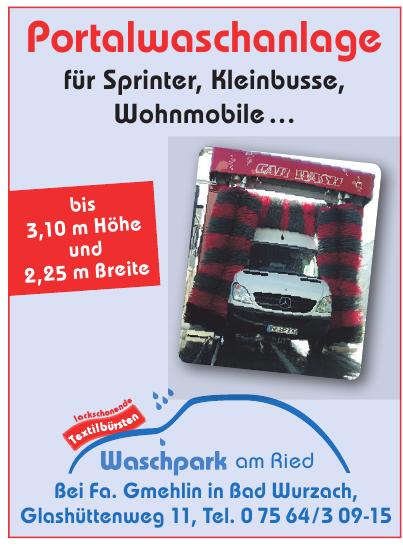Waschpark am Ried