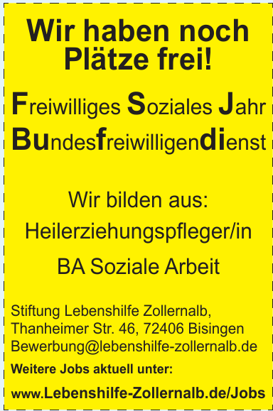 Stiftung Lebenshilfe Zollernalb