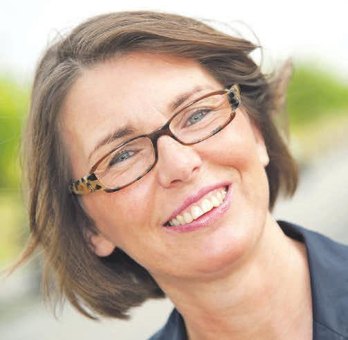 Christina Gloger, Geschäftsführerin der Hauskrankenpflege Gloger, berät Pflegebedürftige und Angehörige. Foto: privat