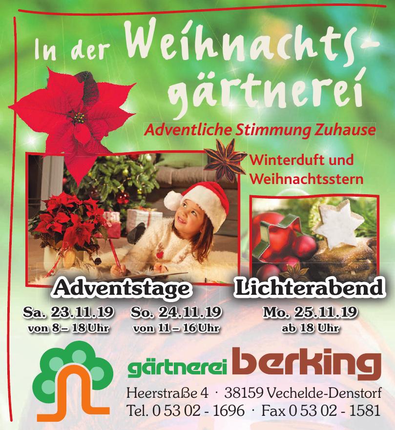 Gärtnerei Berking Premium-Gärtnerei NebeGbR
