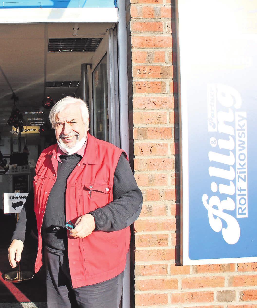 Rolf Zikowsky von Rilling & Partner manövriert sein Geschäft geschickt durch die Corona-Krise.