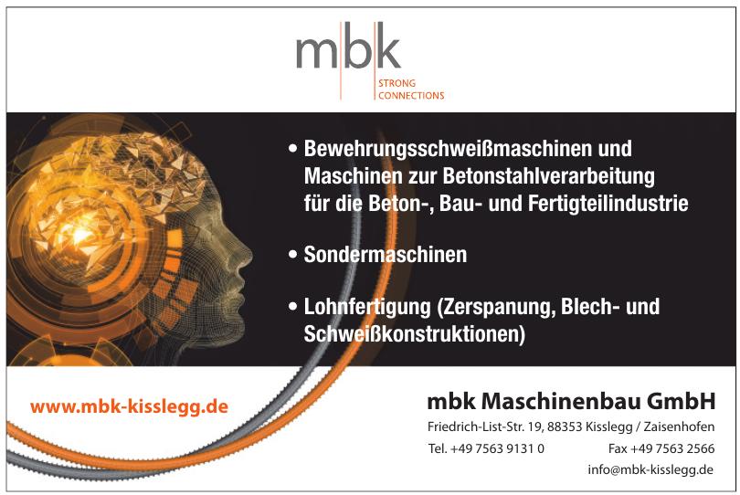 MBK Maschinenbau GmbH