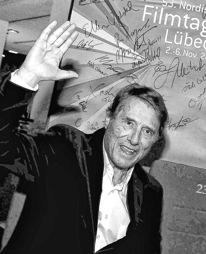 Udo Jürgens war im Jahr 2011 bei den Nordischen Filmtagen zu Gast.