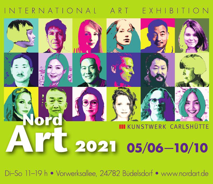 NordArt 2021 - Kunstwerk Carlshütte