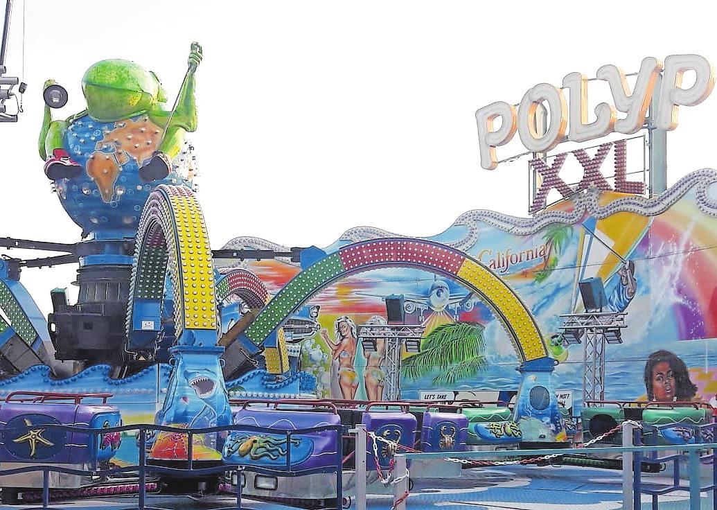 Wurde von vielen vermisst: Der Polyp kommt in der XXL-Version zurück auf den Wurstmarkt.FOTO: LAI
