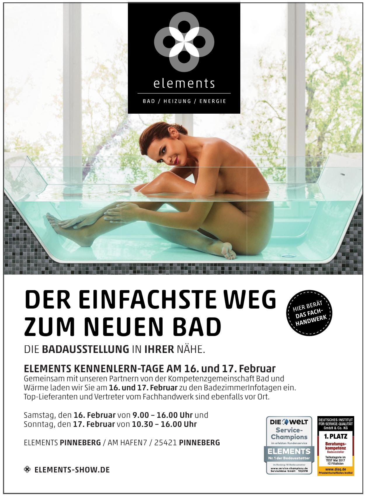 Elements Pinneberg