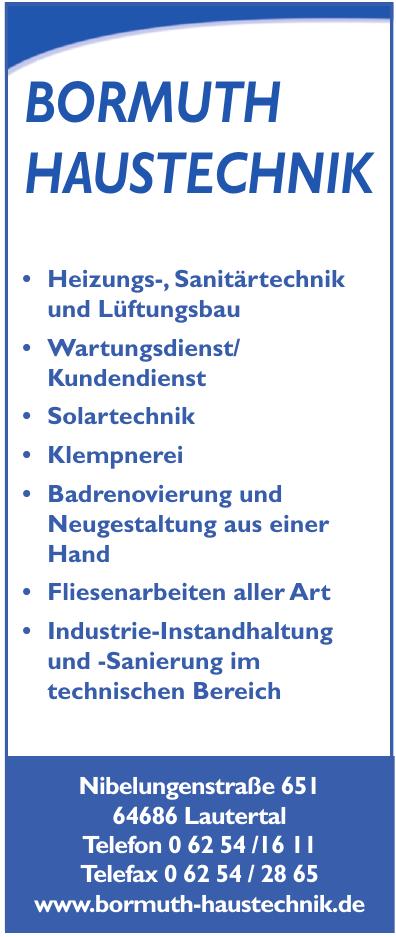 Bormuth Haustechnik