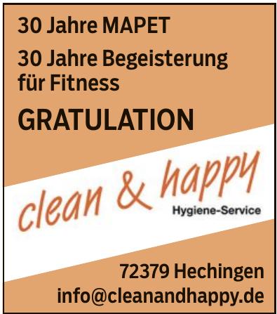 Clean & Happy Hygiene-Service