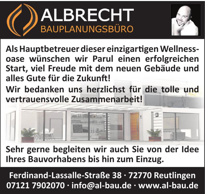 Albrecht Bauplanungsbüro