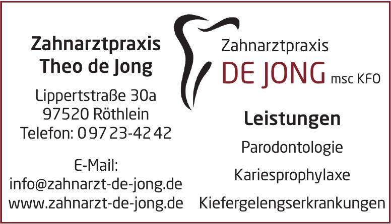 Zahnarztpraxis Theo de Jong
