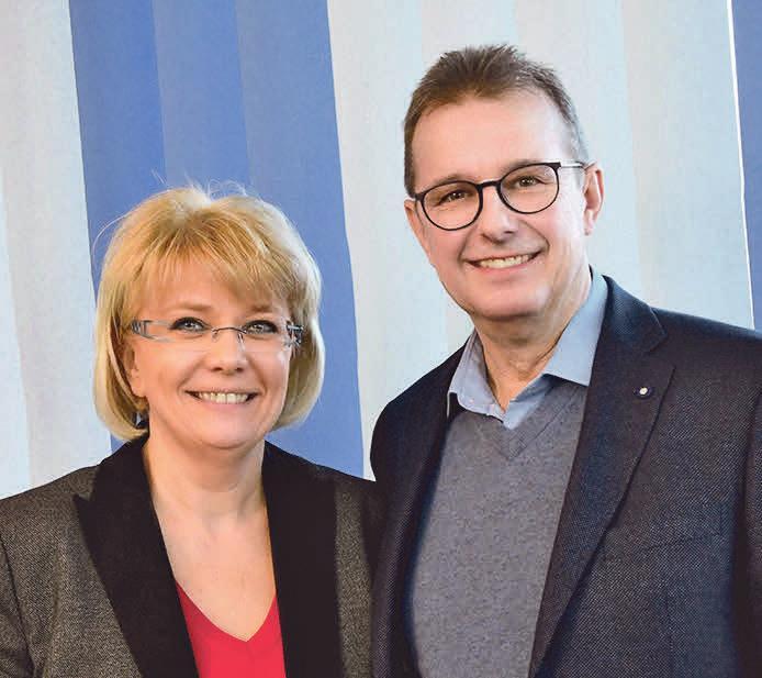 Seit 25 Jahren ist Kerstin Macke-Janek Geschäftsführerin des Autohauses Macke GmbH und Detlef Janek Werkstattleiter. Fotos (2): privat
