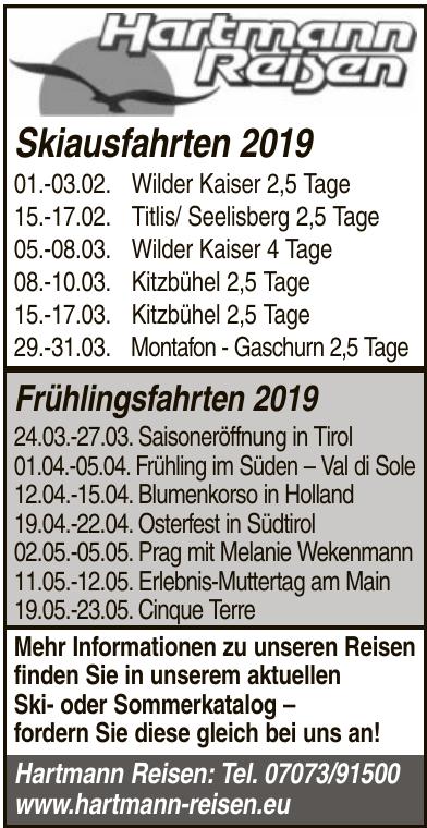 Hartmann Reisen