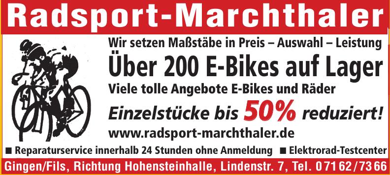 Radsport-Marchthaler