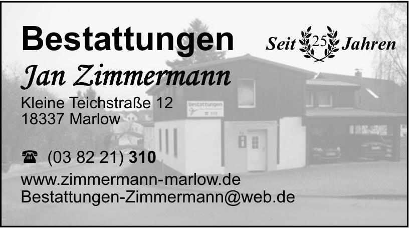 Bestattungen Jan Zimmermann