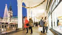 Auch rund um den Rathausmarkt kommt weihnachtliche Stimmung auf Foto: Jörg Modrow