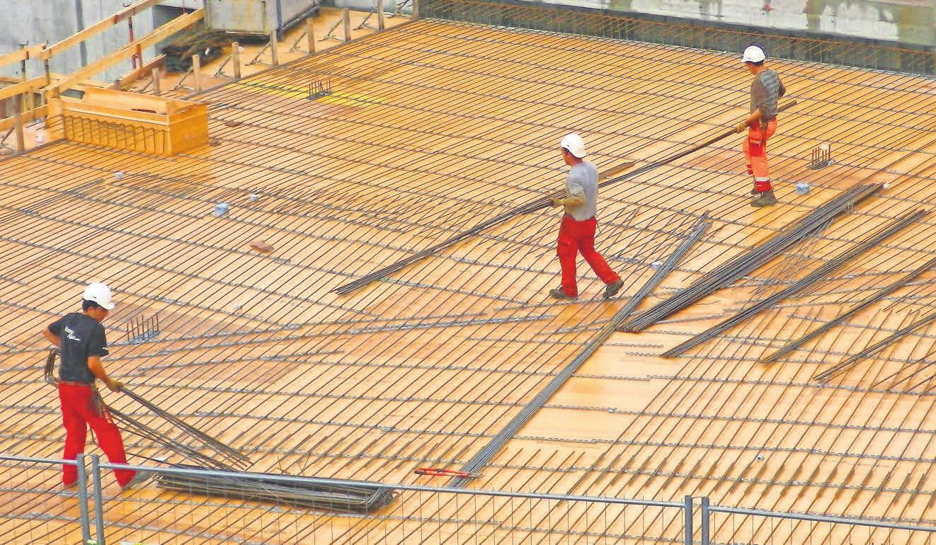 Die Baubranche steht auch in Krisenzeiten wie der jetzigen gut da. Foto: berggeist007, pixelio.de