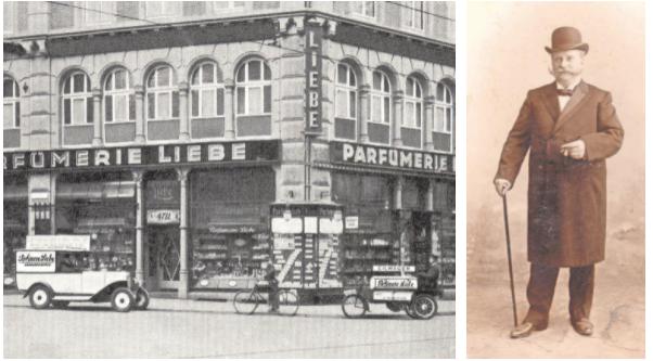 Wilhelm Liebe legt 1871 mit dem Geschäft in der Georgstraße den Grundstein für das Familienunternehmen. Foto: Wilhelm Liebe GmbH
