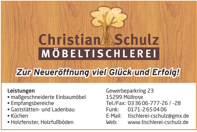 Möbeltischlerei Christian Schulz