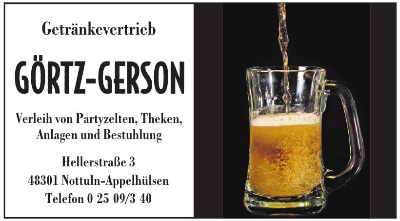 Görtz-Gerson  Getränkevetrieb