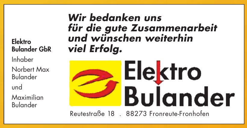 Elektro Bulander