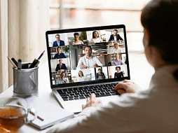 Videokonferenzen werden nach Meinung von Experten dauerhaft erhalten bleiben. FOTO: FIZKES / GETTY IMAGES