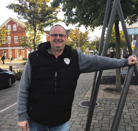 Wolfgang Sarau ist seit einem halben Jahr der Vorstandsvorsitzende des Rings Bargteheider Kaufleute. Foto: Andresen-Schneehage