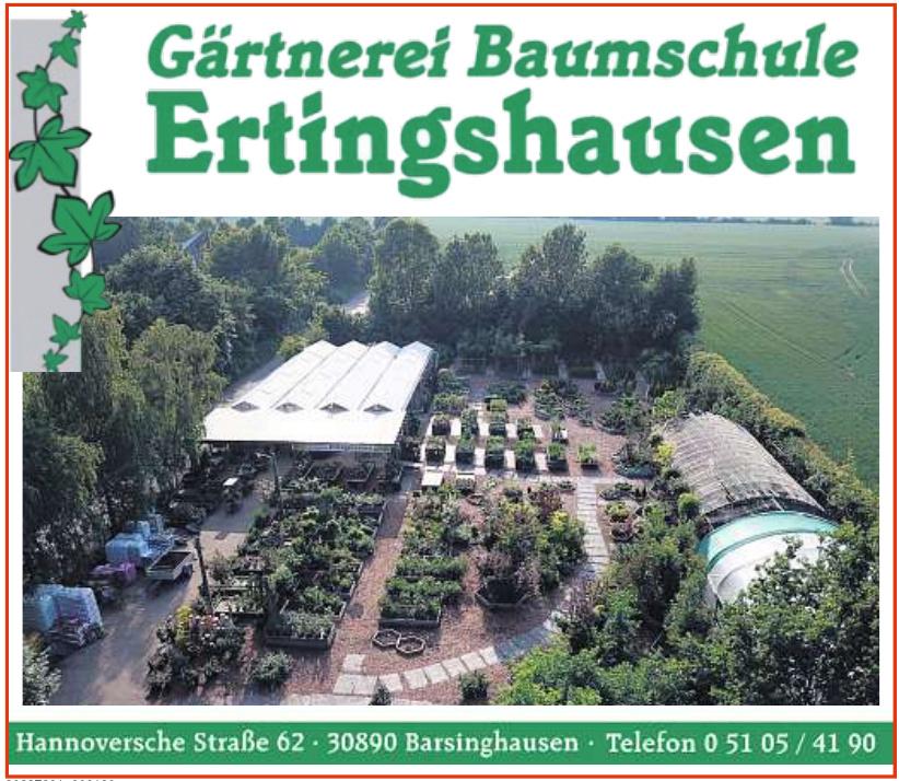 Gärtnerei Baumschule Ertingshausen