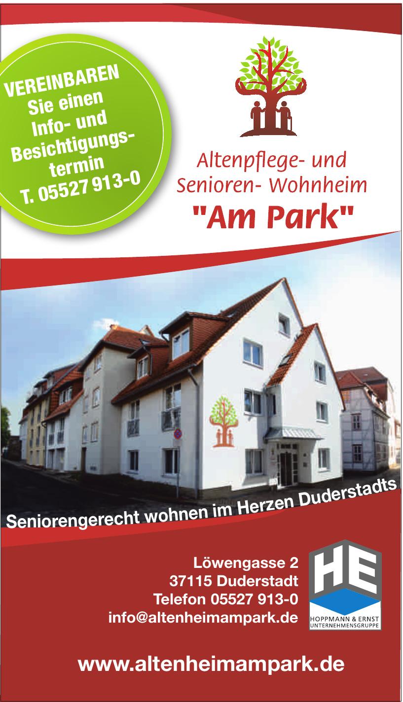 """Haus """"Am Park"""""""