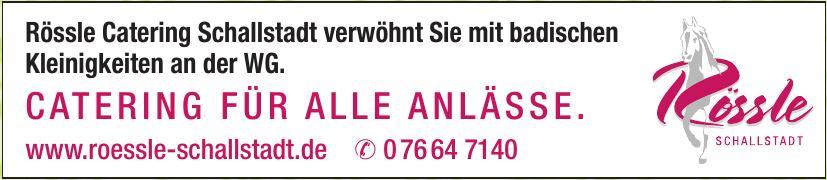 Rössle Schallstadt