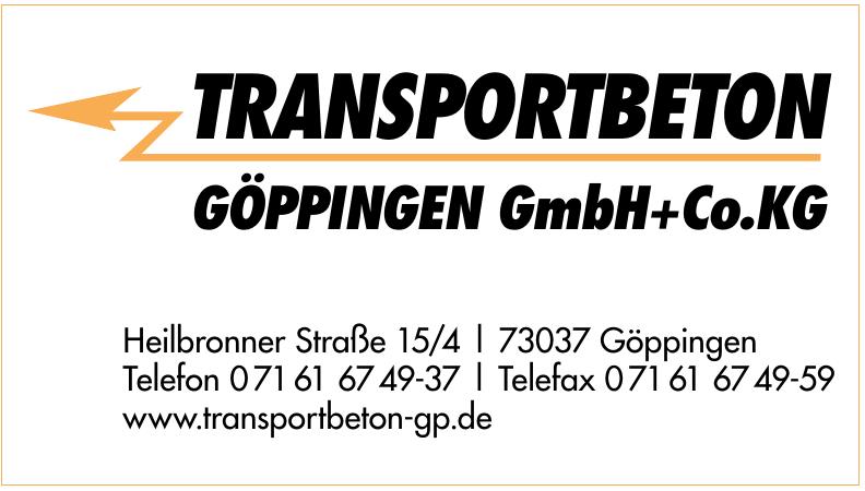Transportbeton Göppingen GmbH+Co.KG