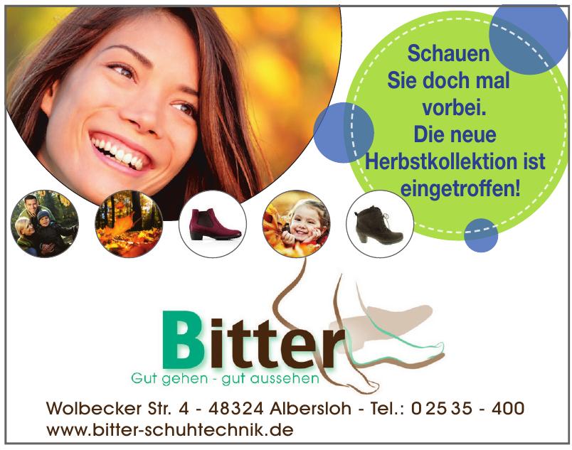 Bitter Orthopädie-Schuhtechnik