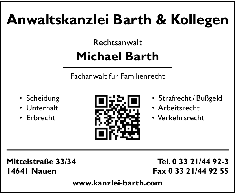 Anwaltskanzlei Barth & Kollegen