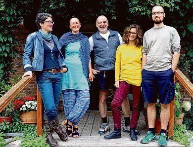 Das genossenschaftlich organisierte Meck-Schweizer-team. © Kathrin Wetzel