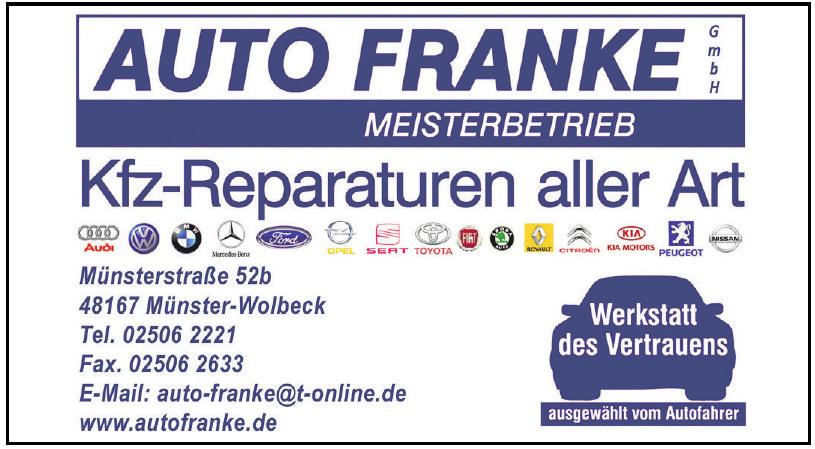 Auto Franke GmbH Meisterbetrieb
