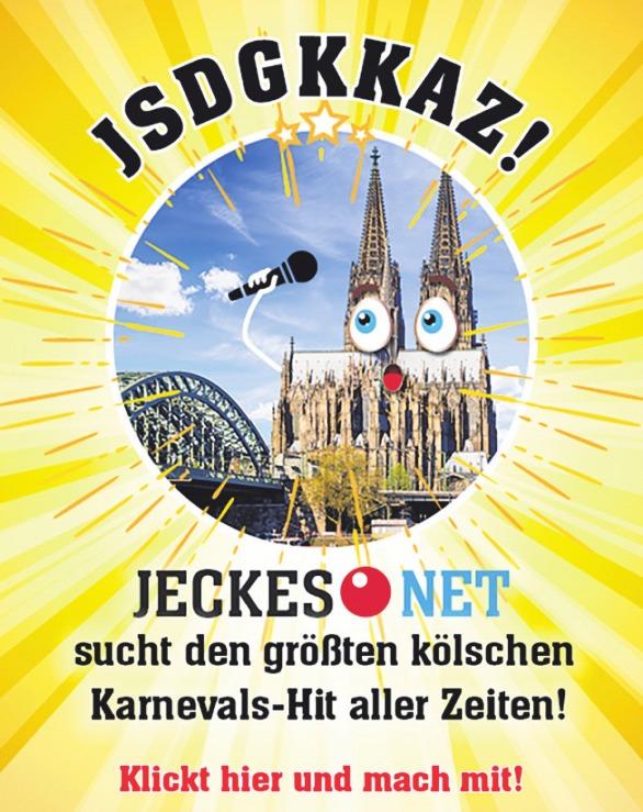 Jeckes.NET sucht den größten Karnevals-Hit aller Zeiten Image 1