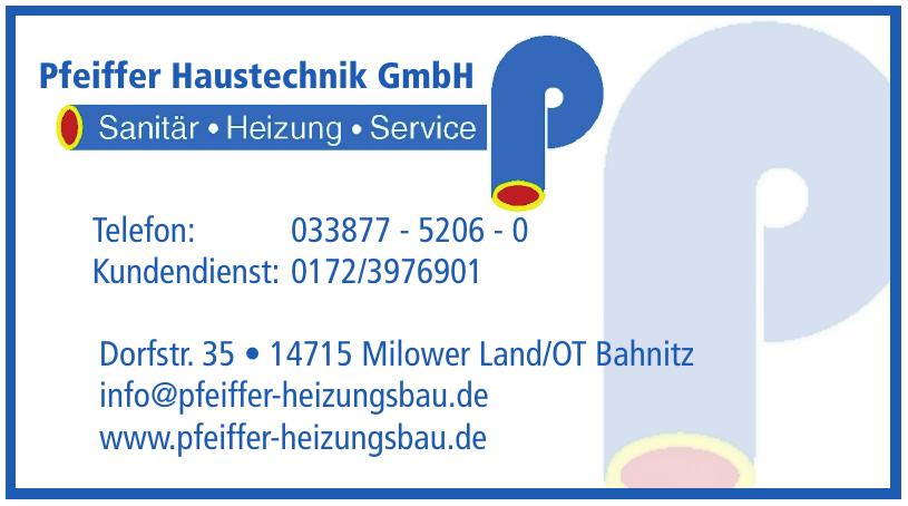 Pfeiffer Haustechnik GmbH