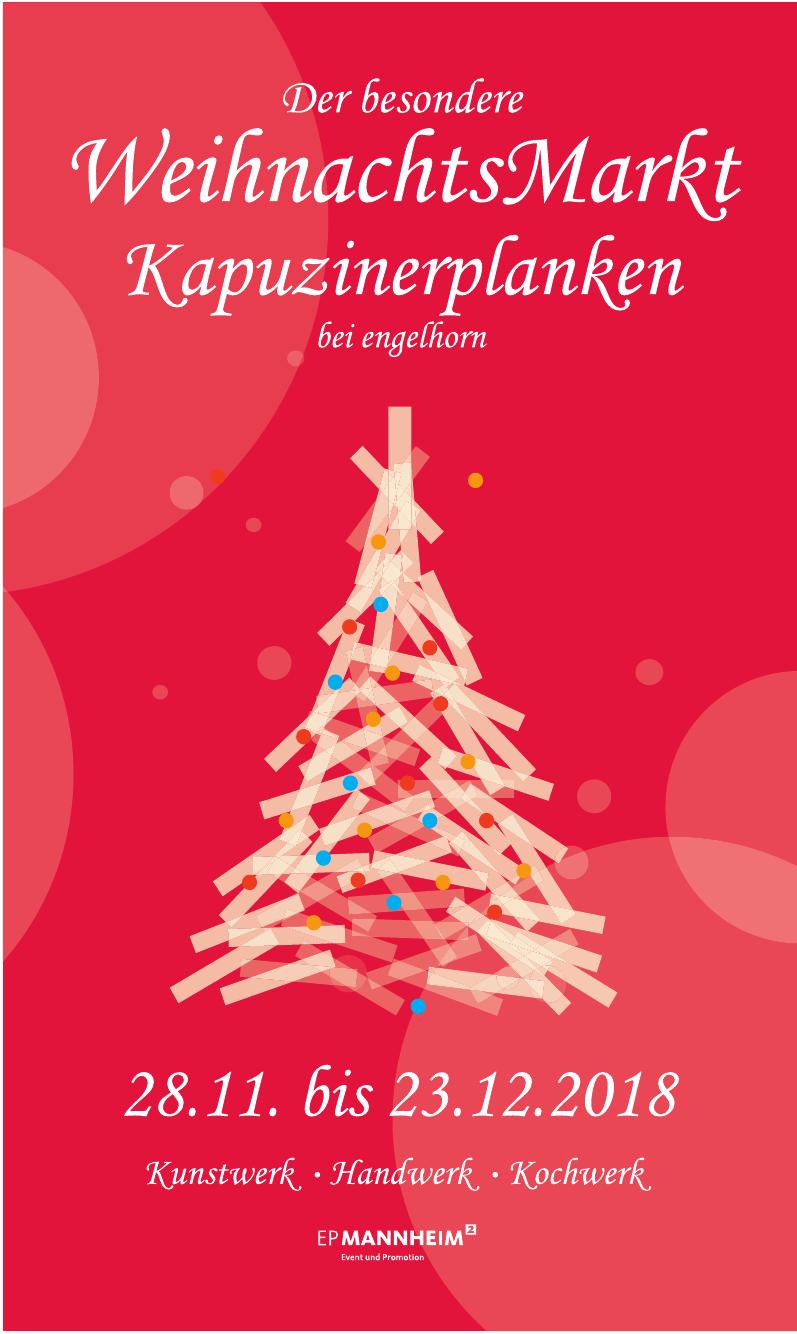 WeihnachtsMarkt Kapuzinerplanken