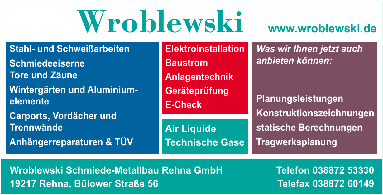Wroblewski Schmiede-Metallbau Rehna GmbH