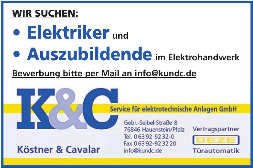 Köstner & Cavalar Service für elektrotechnische Anlagen GmbH