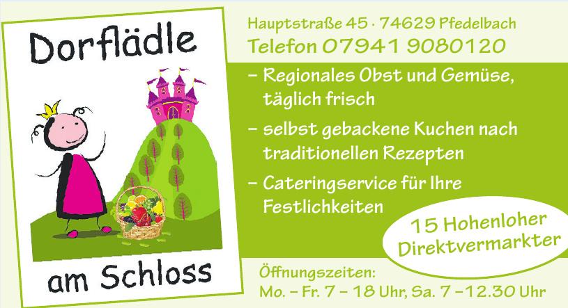 Dorflädle am Schloss