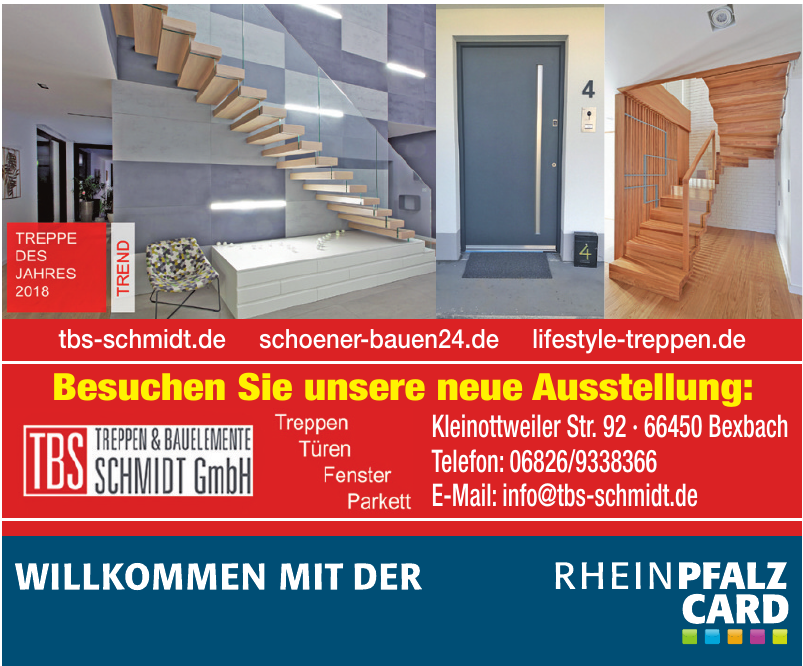 TBS Treppen @ Bauelemente Schmidt GmbH