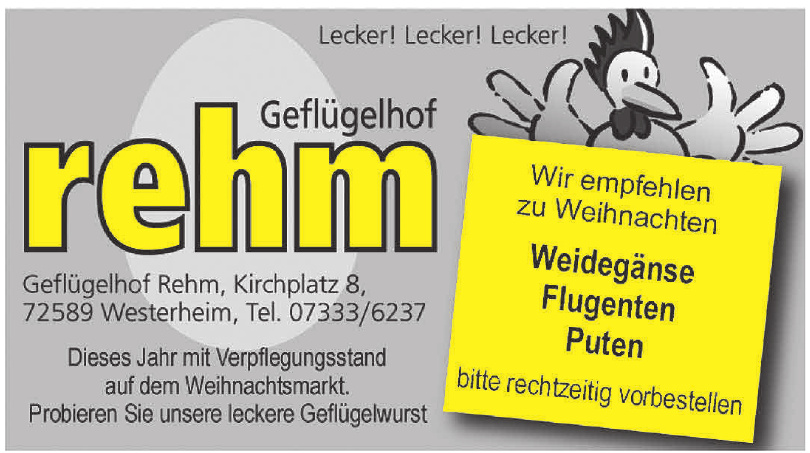 Rehm Geflügelhof