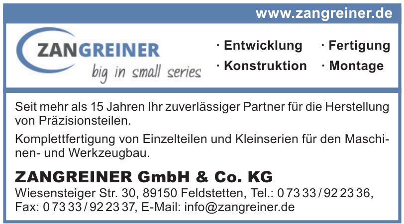 ZANGREINER GmbH & Co. KG