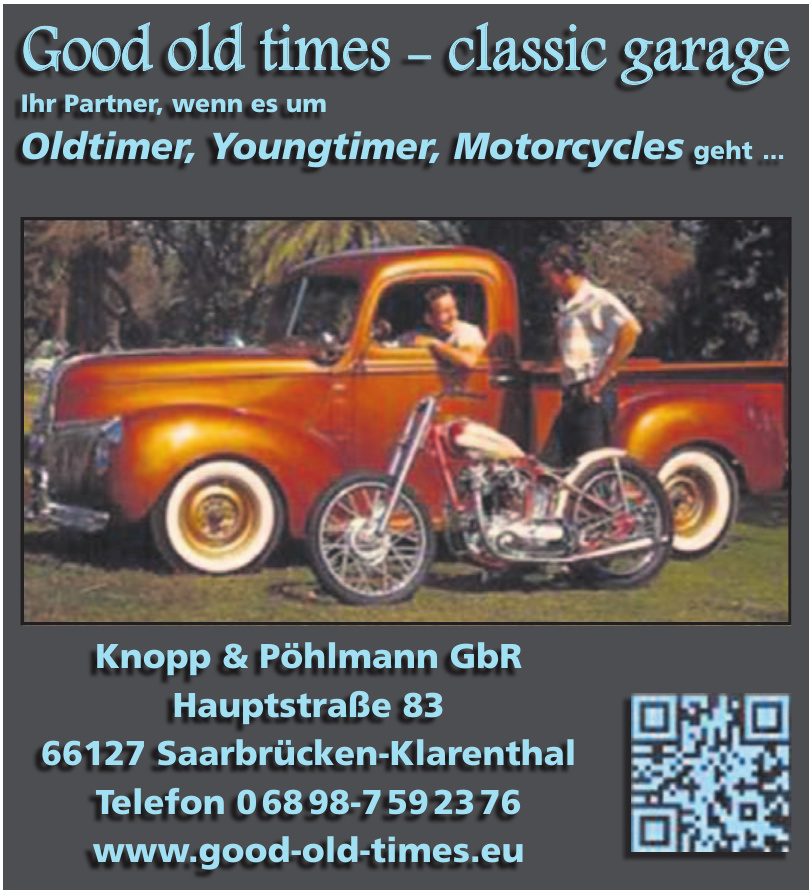 Good old times Knopp & Pöhlmann GbR