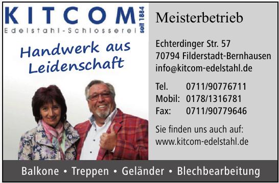 Kitcom Edelstahl - Schosserei